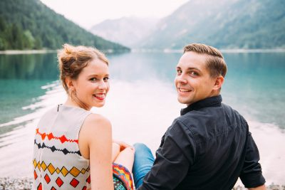 Fotoshooting am Plansee bei Reutte
