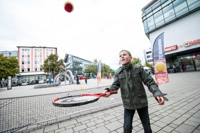 Sport- und Spieletag in Kempten (City Management)